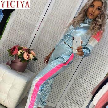 Winter 2 Piece Set Tracksuit For Women Oufits Hooded Full Sleeve Top And Pants Matching Sets Co-ord Plus Size Casual Clothing orange plus size 2 piece set women pant and top outfit tracksuit sportswear fitness co ord set 2019 summer large big clothing