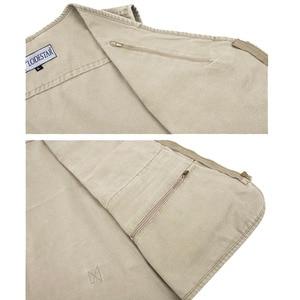 Image 5 - 5XL 6XL 7XL Nieuwe Mannelijke Toevallige Zomer Grote Size Katoen Mouwloos Vest Met Vele 16 Zakken Mannen Multi Pocket Foto vest