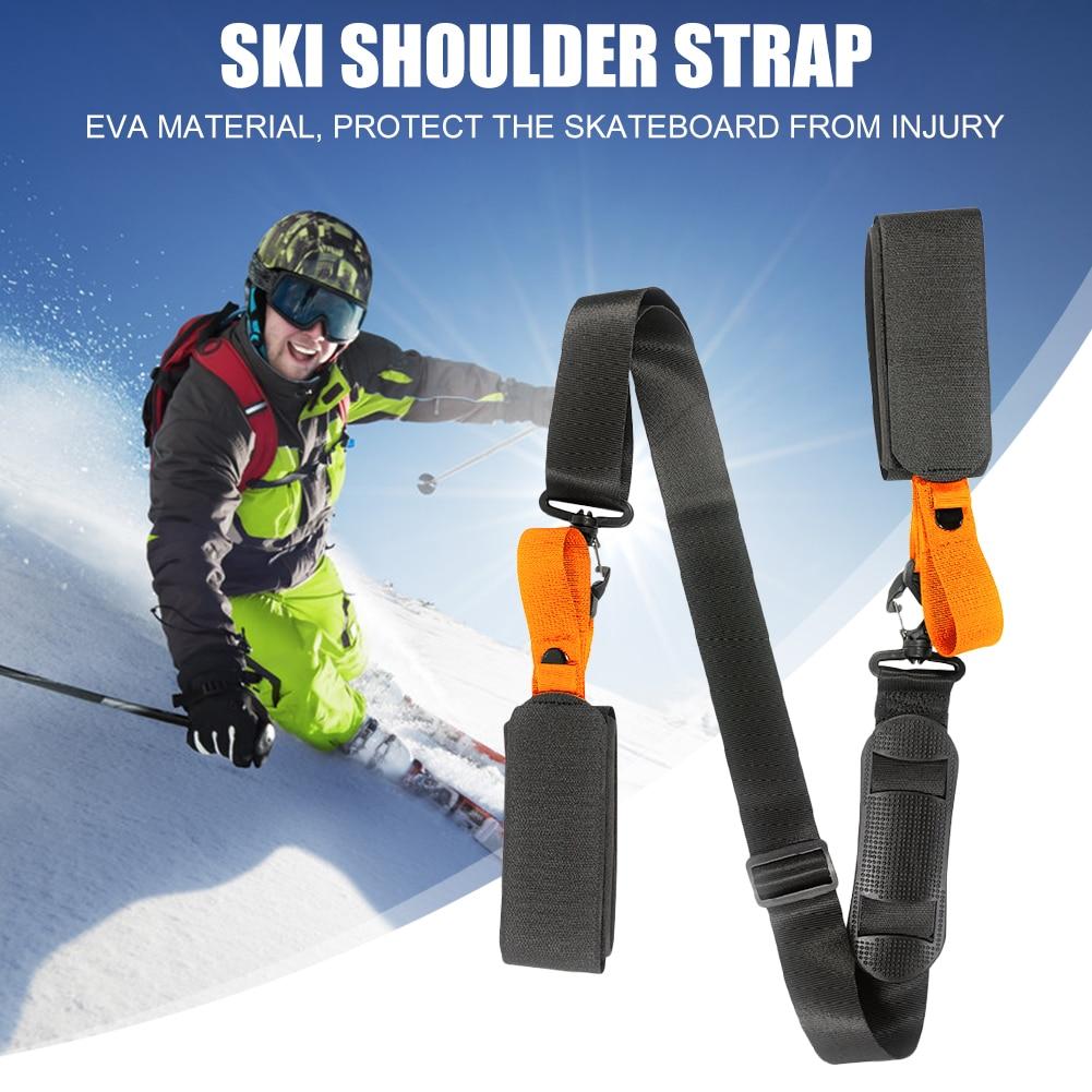 Наплечный ремень для катания на лыжах сноуборде регулируемые нейлоновые ремни для занятий спортом на открытом воздухе