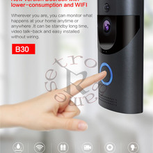 Anytek B30 WIFI Doorbell B30 IP65 waterproof Smart video Door chime 720P wireles