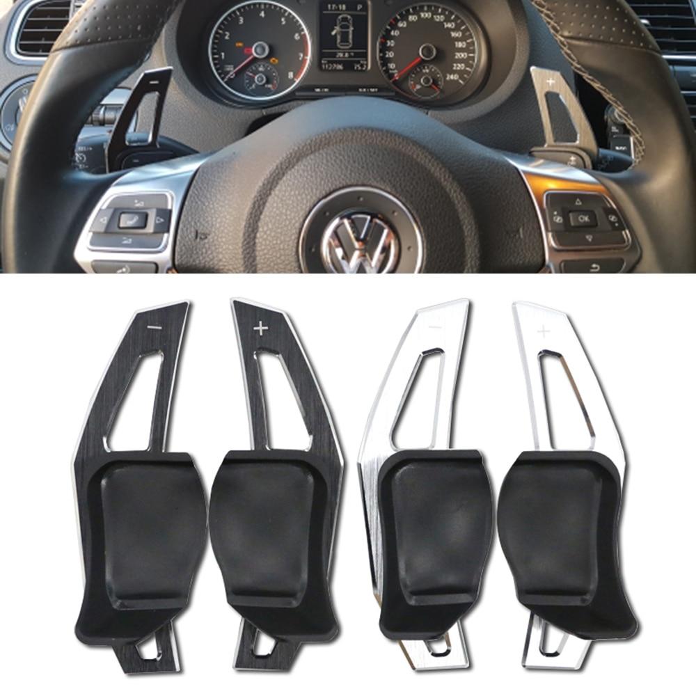 Рулевое колесо сдвига удлинитель лопастей для Volkswagen Golf 6 Golf7 GTI GTE Jetta MK6 R20 R36 Passat Scirocco Поло Golf5/R32