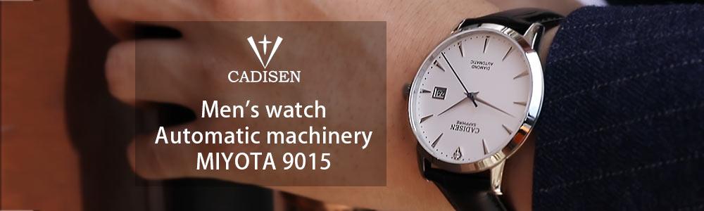 Hc85691a3edc642ea8cebf980c827e903h CADISEN Men Watch Automatic Mechanical Watches Role Date Week Top Luxury Brand Japan NH36A Wrist watch Clock Relogio Masculino