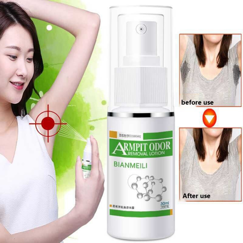 Remove Body Odor Reduce Sweat Armpit Odor Removal Lotion Secretion Antiperspirants Liquid For Underarm