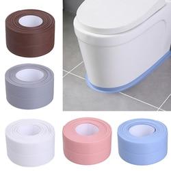 1Pc Kitchen Bathroom Tape Sealing Strips Toilet Corner Waterproof Sealing Strip PVC Self Adhesive for Bathroom Kitchen