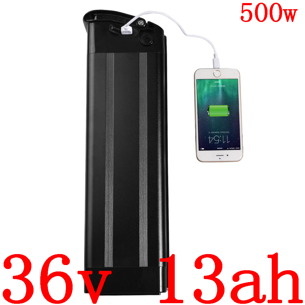 36V 500W battery pack 36v 13ah electric bike battery 36V 8AH 9AH 10AH 11AH 12AH 12.5AH 13AH 14AH lithium ion battery free duty image