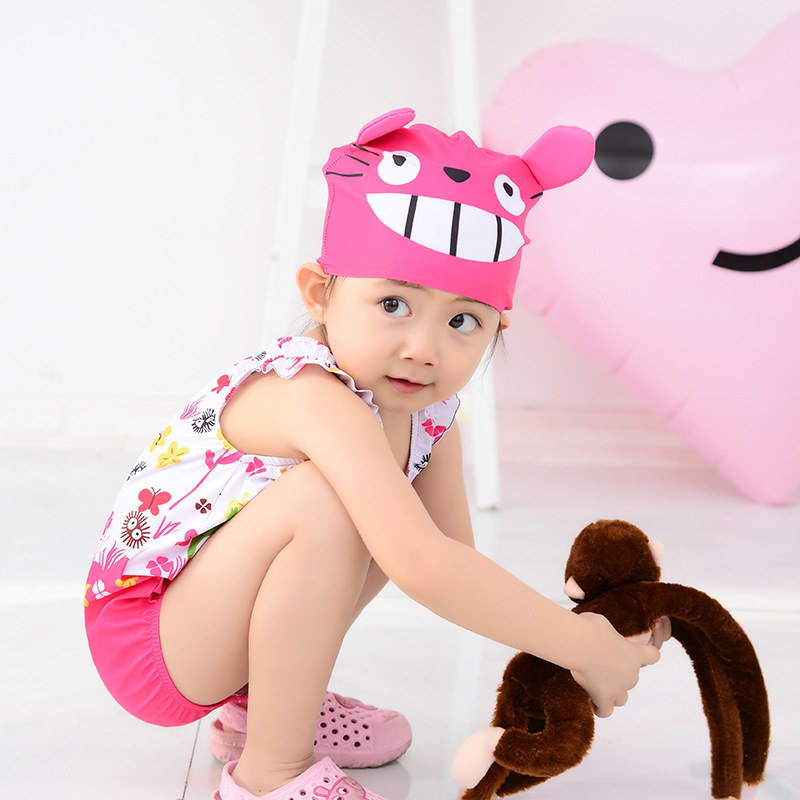 KID'S Swimwear BOY'S Baby Hot Springs Tour Bathing Suit Small CHILDREN'S Quick-Dry One-piece Cartoon Cute BABY'S Swimsuit Fashio