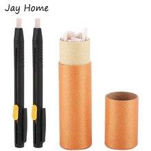 20 pçs alfaiates giz lápis retalhos desaparecendo tecido marcador canetas para diy artesanato costura marcação giz costura acessórios