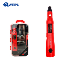 Cordless Mini Electric Drill Power Tools 3.6V Rechargeable Grinder Grinding Accessories Set 3Speed Engraving Pen For Dremel