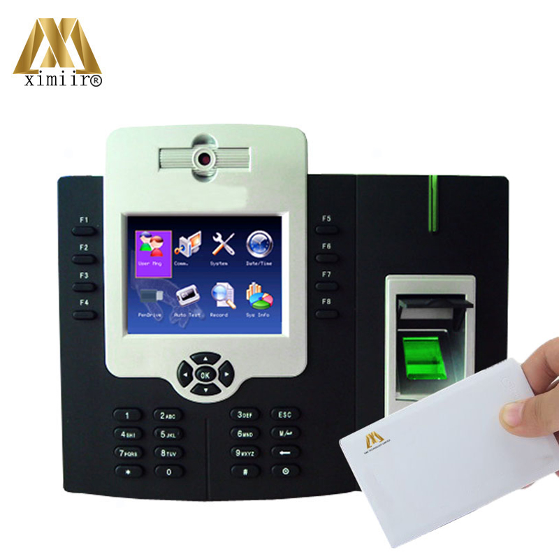 Free Shipping Free SDK 50,000 Fingerprint User Iclock880-H Access Control Terminal TCP/IP Time Attendance MF IC Card