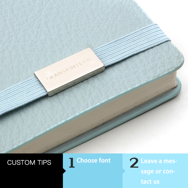 Laser Custom Business Notebook Metal Custom Notebook Costs