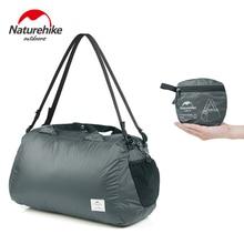 Naturehike Folding Shoulder Bag 32L Waterproof Travel 20D Nylon Ultralight Tourist Luggage Handbags NH17F010-D