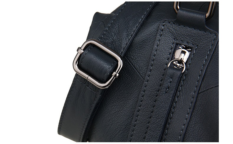 MJ Women Tote Handbag Genuine Leather Female Soft Real Cow Leather Shoulder Bags Solid Large Capacity Ladies Crossbody Bag (19)