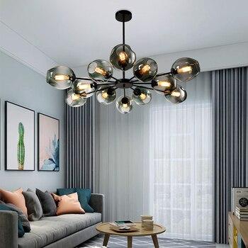 цена Nordic Simple Chandelier Modern Home Decoration Dinning Room Hanging Lamps,Restaurant Lighting Creative Living Room Chandeliers онлайн в 2017 году