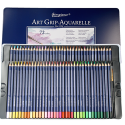 YMZ 12/24/36/48/72 Colors Colored Pencil Wood Graffiti Iron Box Fill Pen Advanced Colored Lead Painting Sketch School Supplies