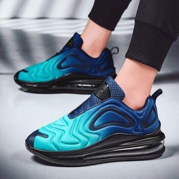 Scarpe da corsa da uomo, scarpe da ginnastica traspiranti, scarpe sportive da jogging per atleta da allenamento a più colori  - Men Running Shoes, Breathable Sneakers, Trainer Sport Athletic Jogging Shoes Multiple Colour 1
