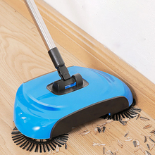 Magic Broom Stainless Steel Sweeper Machine Hand Push Dustpan Handle Household Cleaning  household cleaning tools accessories smart multifunction whirlwind sweeper household hand push floor cleaner not need battery retractable rod broom sweeping machine