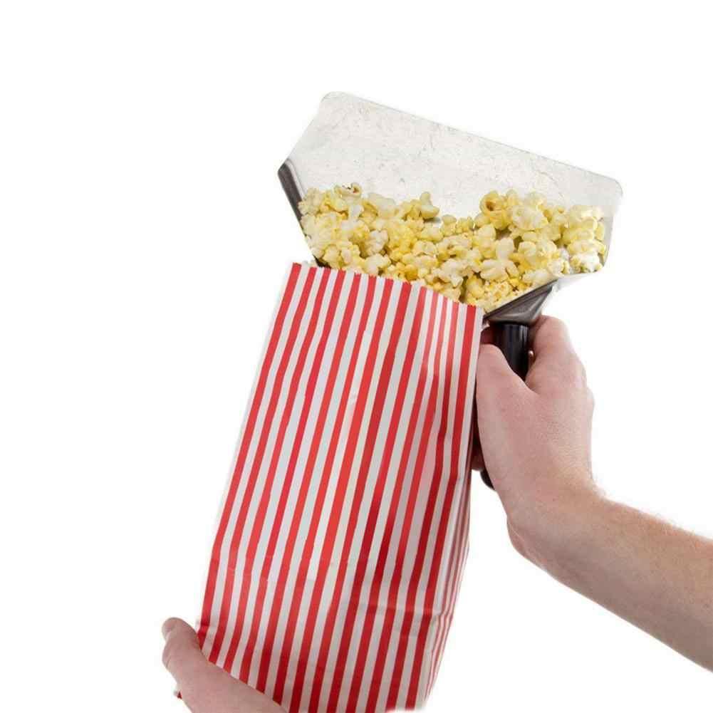 Rvs Chip Schop Verdikte Burger Winkel Apparatuur Frieten Loader Chip Verpakking Schop Popcorn Trechter