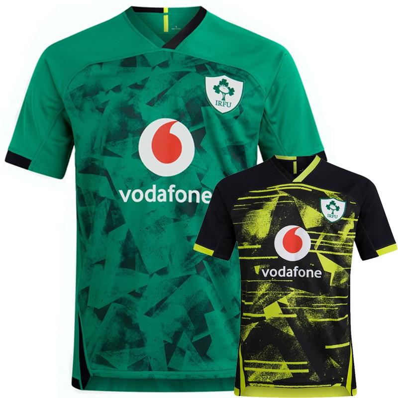 2021 Ирландия, регби, домашняя спортивная одежда, мужские майки, топы, Спортивная рубашка, размер S 5XL|Майки для регби|   | АлиЭкспресс