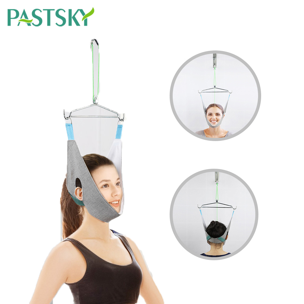 Hanging Neck Traction Device Home Stretching Medical Cervical Spondylosis Treatment Orthosis Tractor Frame Health Care(China)