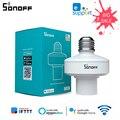 Умный держатель для лампы SONOFF SlampherR2 E27 с Wi-Fi, дистанционное управление через Ewelink/RF/LAN/Голосовое управление с Alexa GoogleHome IFTTT