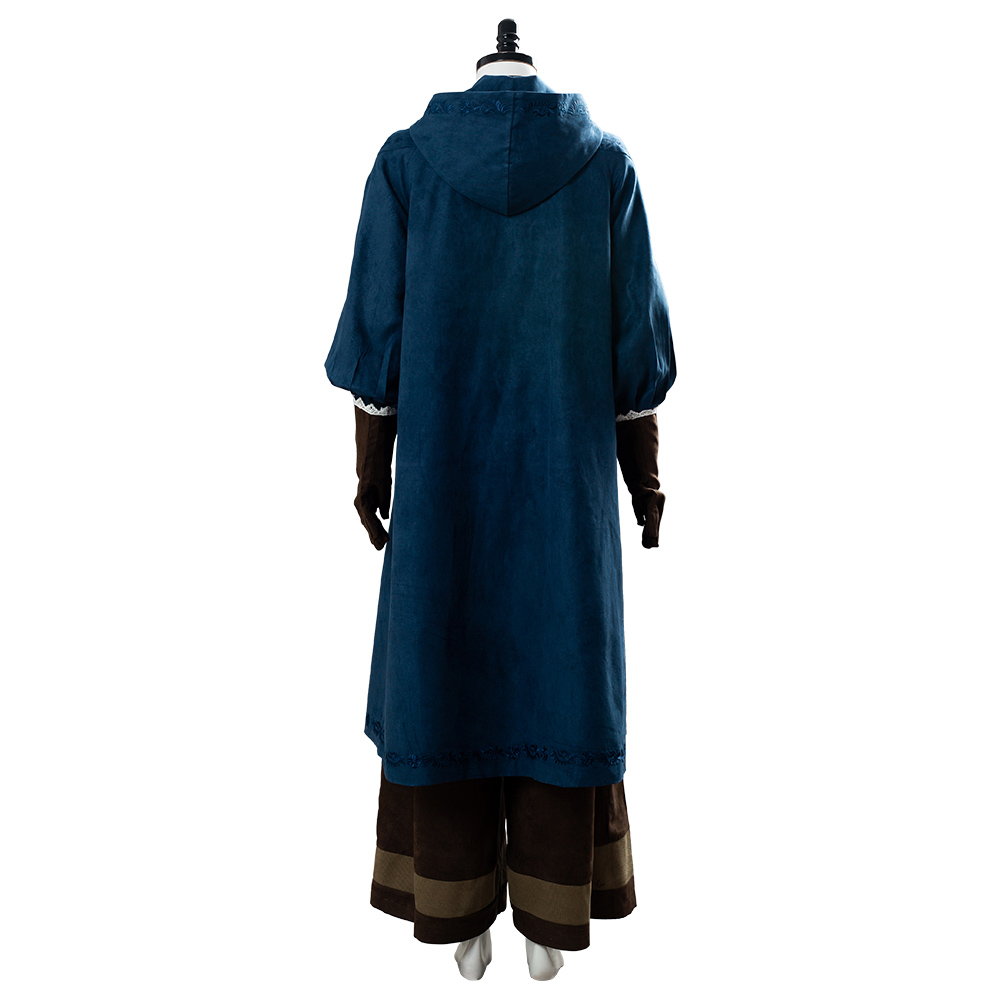 Image 4 - Cirilla Fiona Elen Riannon Costume Ciri Cosplay Dress Full Outfit Halloween Carnival CostumesMovie & TV costumes   -