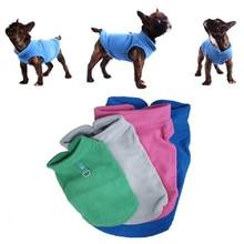 Зимняя флисовая одежда для собак, одежда для щенков, пальто для французского бульдога, костюмы мопса, куртка для маленьких собак, чихуахуа, Hondenkleding