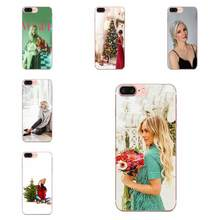 Vogue Christmas Girl On Sale Luxury For Huawei P7 P8 P9 P10 P20 P30 Lite Mini Plus Pro Y9 Prime P Smart Z 2018 2019(China)