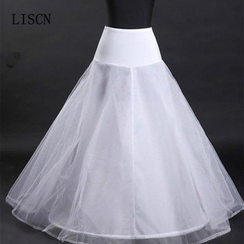 White In Stock Free Shipping Party Fashion Bridal Accessories A Line Petticoats For Wedding Dress Elastic Underskirt Crinoline free shipping 5pcs fa5571n in stock