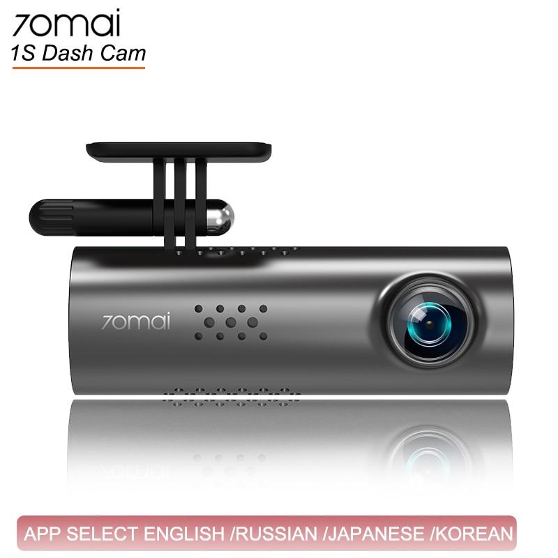 70mai 70 1080HD Dashcam WI-FI Câmera de Visão Noturna Câmera Do Carro Traço Cam 1 mai S APP Inglês Voz Controle Do Carro DVR
