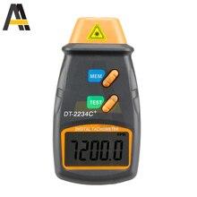 DT2234C+ 5 Digitals Laser Tachometer RPM Meter Non-Contact 2.5-99999RPM LCD Display Speed Meter DT2234C Speed Tach Tester