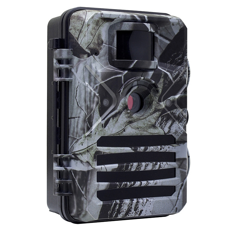 Game Trail Camera with Night Vision Motion Activated 1080P 16MP Cam Hunting Trap Cameras with No Glow IR and Upgraded Waterproof