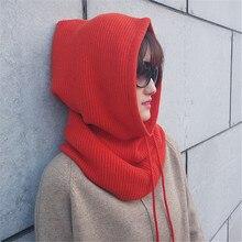 Для женщин шляпа шарф мешковатые Тип головного убора теплая Крючком Зимняя шерстяная одежда Вязаные Лыжные детская Шапка-бини сапоги высотой выше колена шапки czapka я szalik sea4