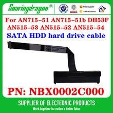 Novo original para acer AN715-51 AN715-51b AN515-53 AN515-52 AN515-54 sata ssd hdd disco rígido cabo conector nbx0002c000
