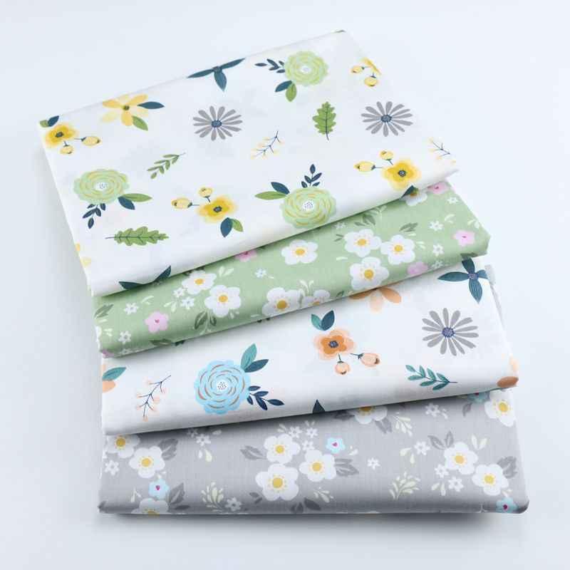 Syunss 100% bawełna tkaniny Diy szycie ubrań dla Patchwork pikowania kołyski dla dzieci poduszki sukienka szycia Tissus Tilda Floral Cartoon