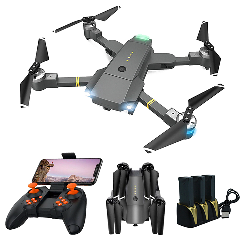 Gloabl Drone FPV Drones with Camera Wide Angle HD 1080P Hight Hold Mode WIFI Dron RC Drone X Pro Quadrocopter Gift VS E58 image