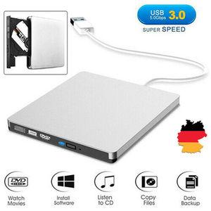 2019 Newest Fashion External USB 3.0 DVD RW CD Writer Drive Burner Reader Player For Laptop PC