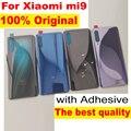 100% оригинальное стекло для xiaomi 9 mi 9 MI9 CC9E MiA3 задняя крышка Задняя Дверь Замена Жесткий Чехол для батареи задняя крышка корпуса проводник