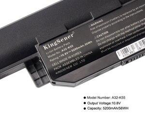 Image 5 - KingSener Korea Cell A32 K55 Battery for ASUS X45 X45A X45C X45V X45U X55 X55A X55C X55U X55V X75 X75A X75V X75VD U57 U57A U57VD