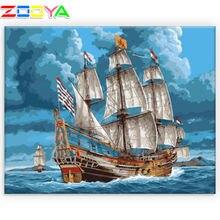5d картина алмазная живопись пейзаж семейное ремесло морское
