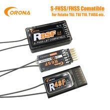 Corona 2.4G R4SF R6SF R8SF S-FHSS/Receptor Compatível Com FUTABA FHSS S-FHSS T6 14SG