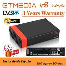 Hd completo gtmedia v8x DVB-S2 receptor de satélite h.265 built-in wifi gtmedia v7 s2x atualização de gtmedia v8 nova v9 super nenhum aplicativo