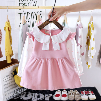Autumn Newborn Baby Girls Dress Long Sleeve Princess Dresses for Baby Girl Birthday Dress Toddler Girl Clothes Infant Clothing long sleeve baby girl dress newborn princess infant baby girl clothes mesh tutu ball gown party dresses little girls clothes