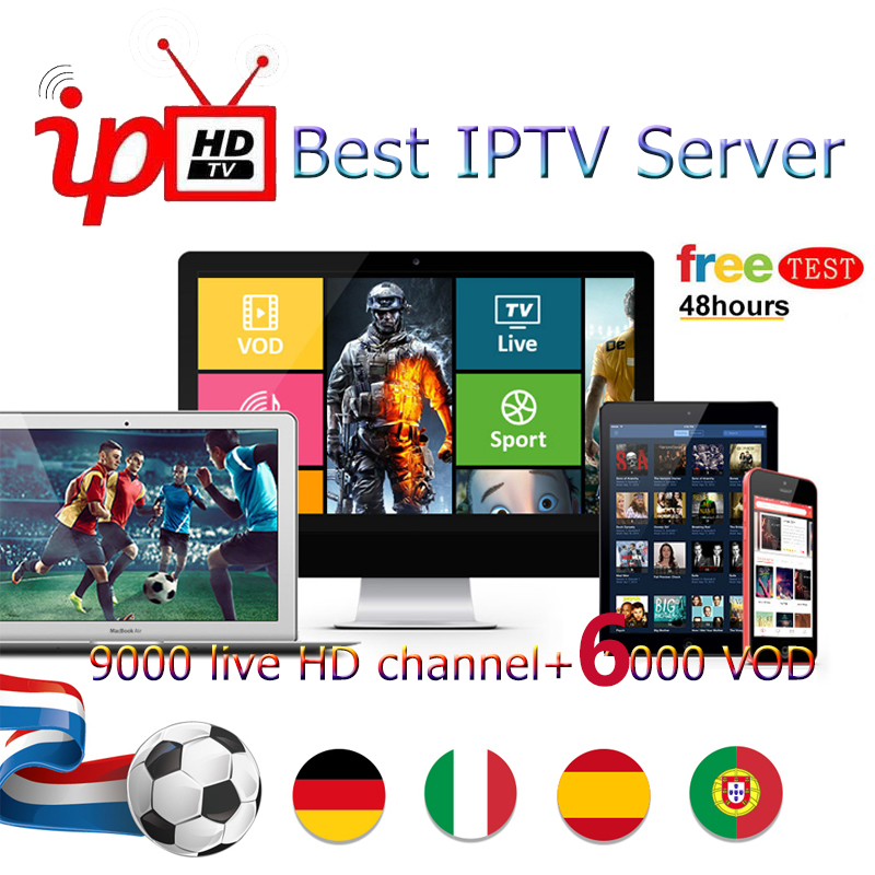 Latest World M3U Subscription IPTV HD Spain France French Abonnement 1 year US CZ SK for smart TV
