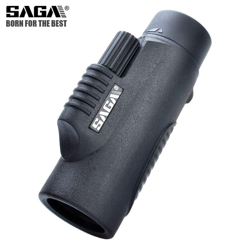 Tools : SAGA BAK4 8x32 10x42 Monocular Telescope HD Mini Monocular Outdoor Hunting Camping Scopes Phone