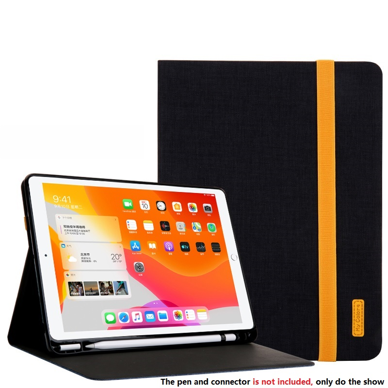 Black Black Smart Sleep Wake UP Case For iPad 10 2 7 th Generation 2019 Cover A2200 A2198