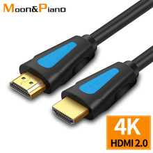 1080P HDMI 2.0 Male to Male Cables 3D 4K HD Quality PS3 TV Monitor Multi Devices Data Sync Fast Speed Stable Extension Wire