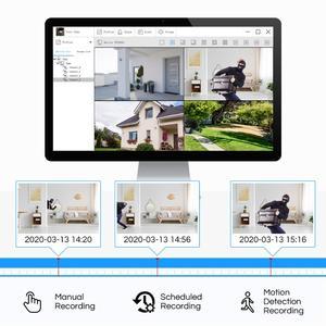 Image 4 - ZOSI 1080P Macchina Fotografica del CCTV Sistema di 4CH 1080P DVR Sistema con 2x Outdoor 2MP Video Telecamere di Sicurezza 2CH Casa kit Telecamera di sorveglianza