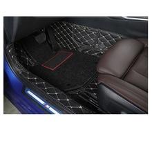 цена на Lsrtw2017 Leather Car Interior Floor Mats for BMW 3 Series G20 320 325 330 335 2020 sticker accessories carpet rug