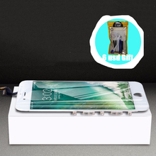 [6 USD GIFT] for iPhone 6 6S 8 LCD Display Screen Protector Apple Black White Ecran With Repair Tool
