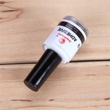 5 бутылок 8 мл клей для galaxy star фольга стикер дизайна ногтей